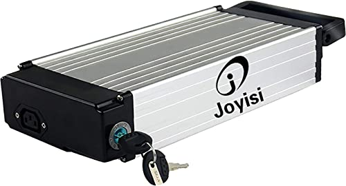 Joyisi 48V 15AH Ebike Battery, Lithium ion Bike Battery with Charger, BMS Protection Board and Fuse for 1000W