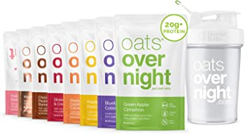 8-Pack Oats Overnight High Protein Low Sugar Breakfast Party Pack