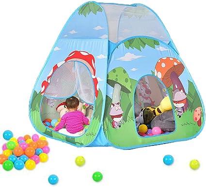 Playhouse para Ni/ños Ni/ñas Jugar Castle Interior al Aire Libre Regalo para Ni/ños Casitas Infantiles Tela Nice2you Tienda Campa/ña Infantil