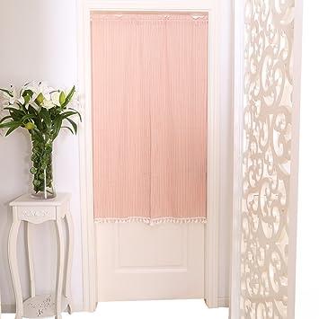 SR Einfache Baumwolle Tür-jalousien, Vorhang Für Schlafzimmer ...