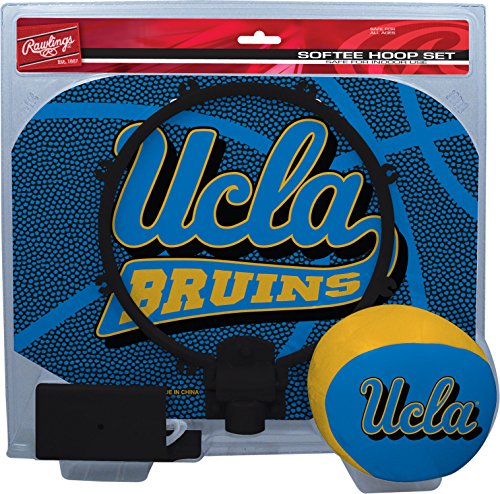 Rawlings Ncaa Ucla Bruins Kids Slam Dunk Hoop Set  Blue  Small