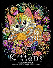 Kittens Coloring Book: Cat Stress-relief Coloring Book For Grown-ups