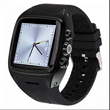 Wifi reloj inteligente GPS reloj con ranura para tarjeta SIM podómetro frecuencia cardíaca Fitness Tracker reloj