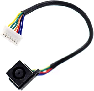 Deal4GO DC Power Input Jack with Cable Charging Port Harness Wire for Dell XPS 15 L501X L502X P11F DDGM6BPB00 XFT6Y 0XFT6Y