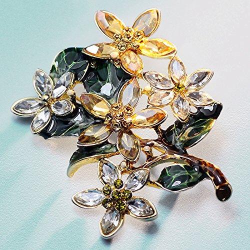 Helen de Lete Vintage Neroli Elegant Pearl Brooch
