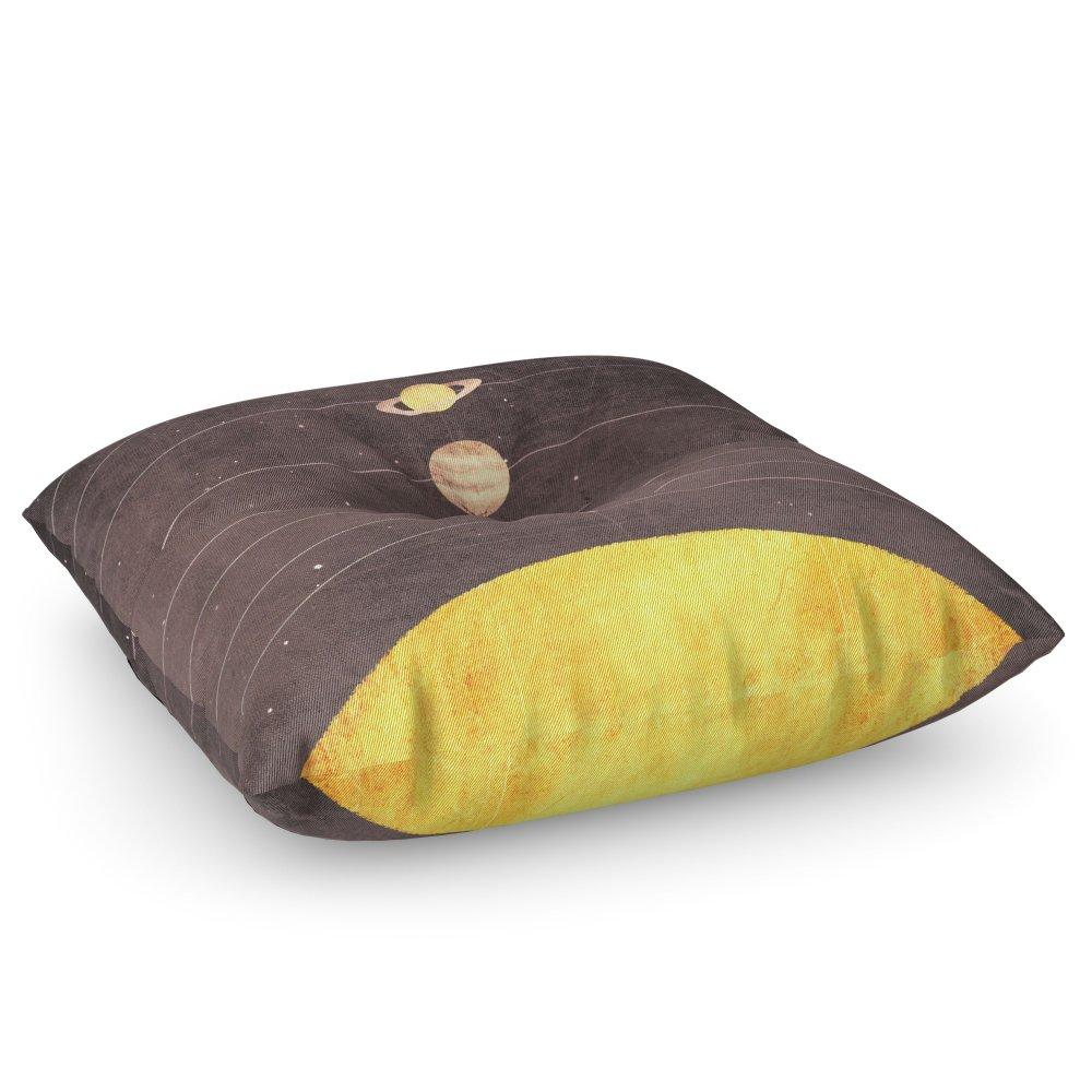 Society6 Solar System Floor Pillow Square 30'' x 30''