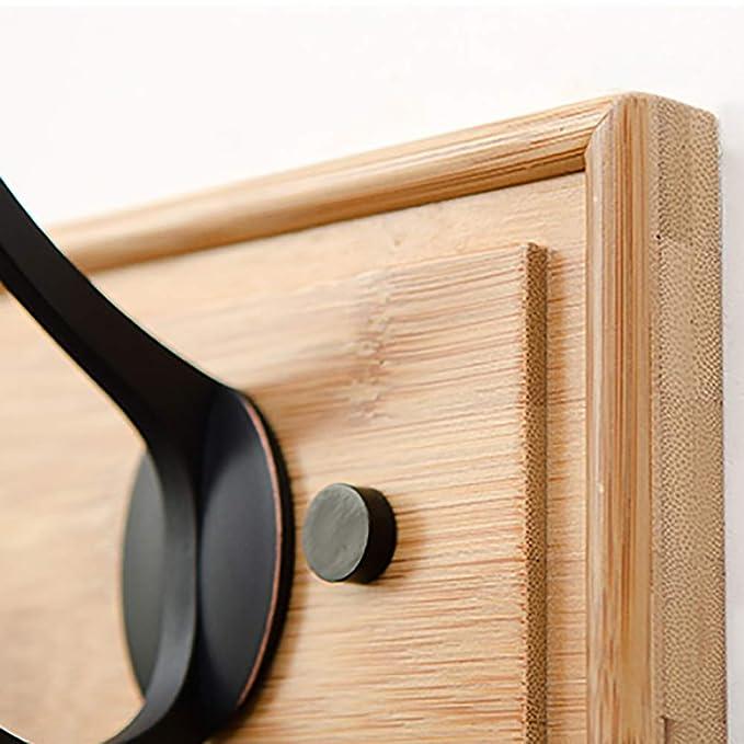 Amazon.com: GuoWei-Coat - Perchero de pared de madera de ...