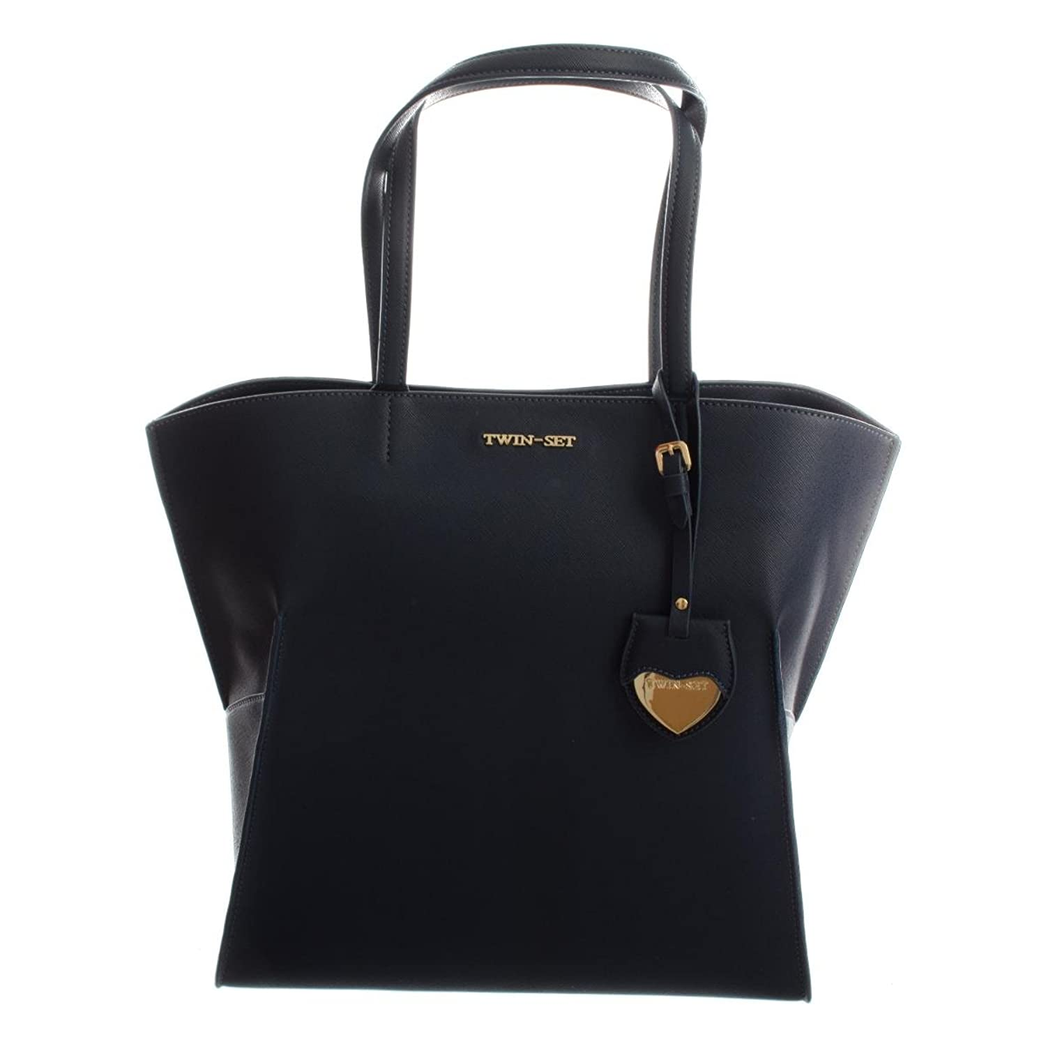 Twin-Set Shopping Taglio Vivo damen, accessori: borsa a mano, schwarz