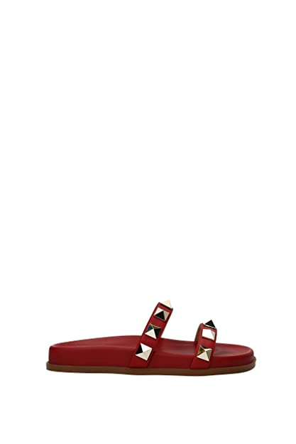 b6211de7be67d VALENTINO GARAVANI Slippers and Clogs Women - Leather (PW2S0D99NRN0RO) 3 UK