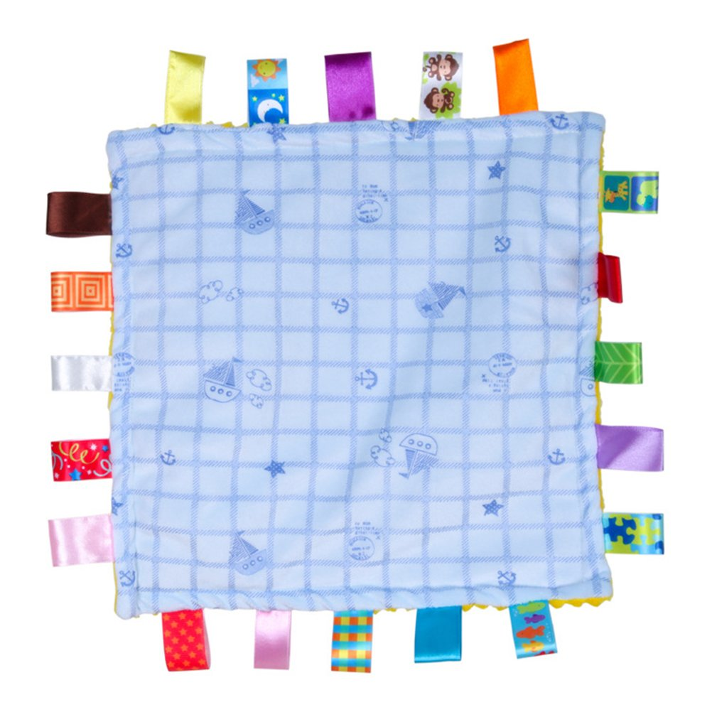 on sale YeahiBaby Baby Infant Teething Blanket Plush Teething Cloths ...