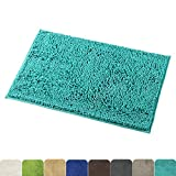 Mayshine Non-Slip Bathroom Rug Shag Shower Mat Machine-Washable Bath Mats...