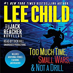 Three More Jack Reacher Novellas Hörbuch