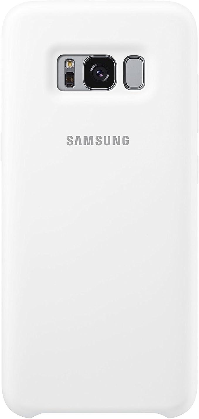 Samsung Dream Silicone Cover, Funda para smartphone Samsung Galaxy S8, Blanco: Amazon.es: Electrónica