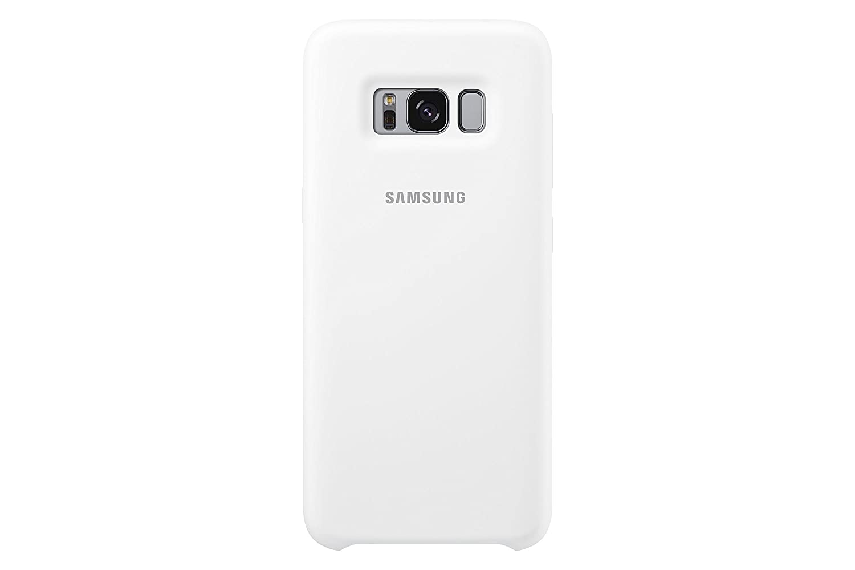 Samsung Dream Silicone Cover, Funda para smartphone Samsung Galaxy S8, Blanco