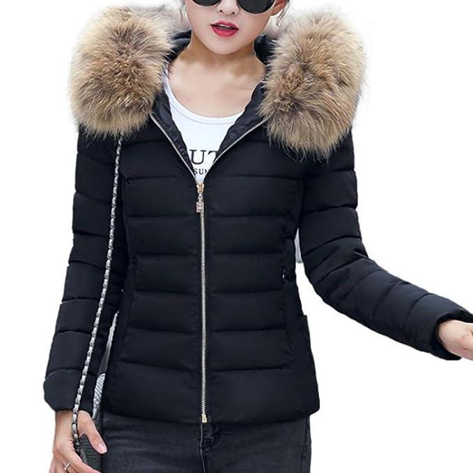 Mujeres Invierno caramelo Abrigos con capucha de color de mujer invierno  plumas fiesta parka cremalleras bolsillo chaquetas mujer moto deportivas  baratos ... 1c8e9db14052