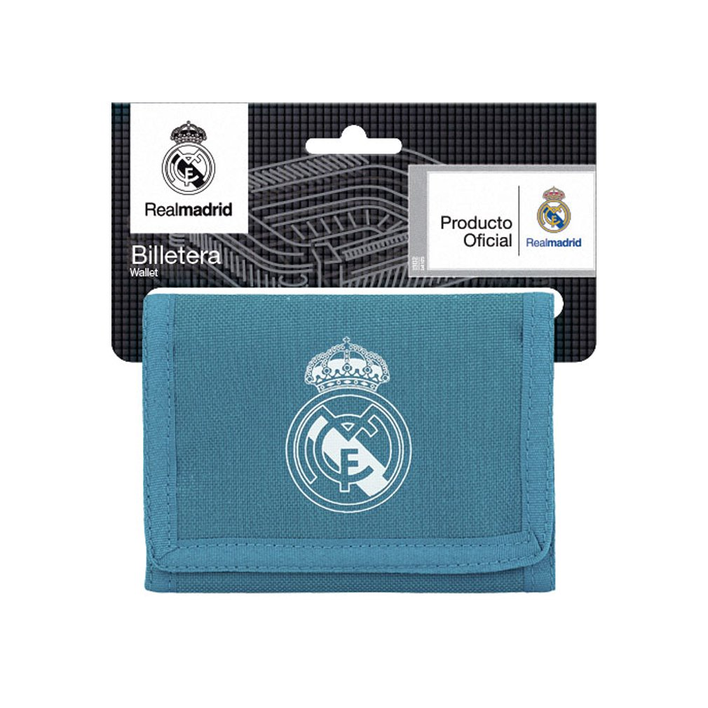 Safta Cartera Billetera Oficial Real Madrid 3ª Equip. 17/18 125x95mm Roger's 811857036