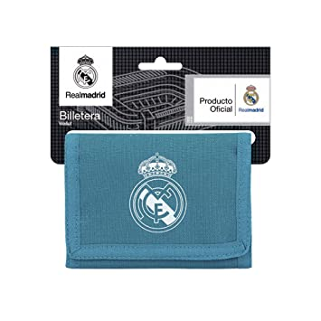 Safta Cartera Billetera Oficial Real Madrid 3ª Equip. 17/18 125x95mm: Amazon.es: Equipaje