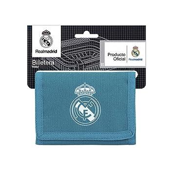 b8101fbfc Safta Cartera Billetera Oficial Real Madrid 3ª Equip. 17/18 125x95mm:  Amazon.es: Equipaje
