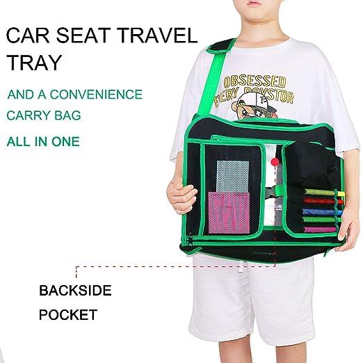Amazon.com: ZALALOVA - Bandeja de viaje para asiento de ...