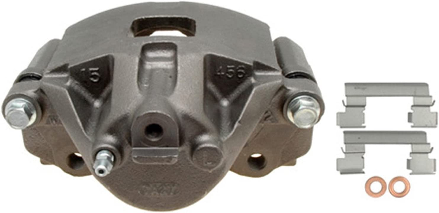 ACDelco 18FR1215 Professional Front Driver Side Disc Brake Caliper Assembly without Pads Friction Ready Non-Coated Remanufactured