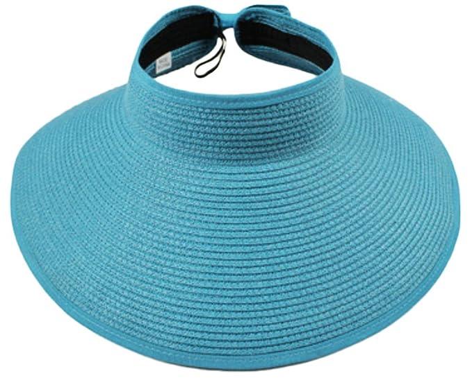 Leisial Mujer Sombrero Sol Gorro Ancho De Sol Color Sólido Diseño Elegante  Del Bowknot Casquillo De 3798665e479