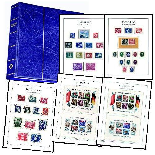 Goldhahn DDR 1949-1990 Postfrische Komplettsammlung Briefmarken für Sammler