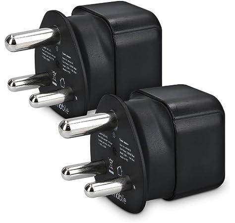kwmobile 2X adaptadores de Viaje para Sudáfrica Tipo M: Amazon.es: Electrónica