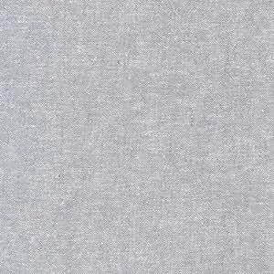 Kaufman Essex Linen Blend Yarn Dyed Steel Fabric By The Yard