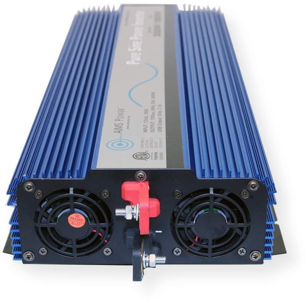 AIMS Power PWRI300012120SUL 3000 Watt Pure Sine Wave Power Inverter, ETL Listed by AIMS Power (Image #5)
