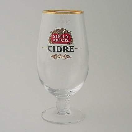 Personalizado Stella Artois Cidre una pinta botella de cristal – copas de grabado en caja de