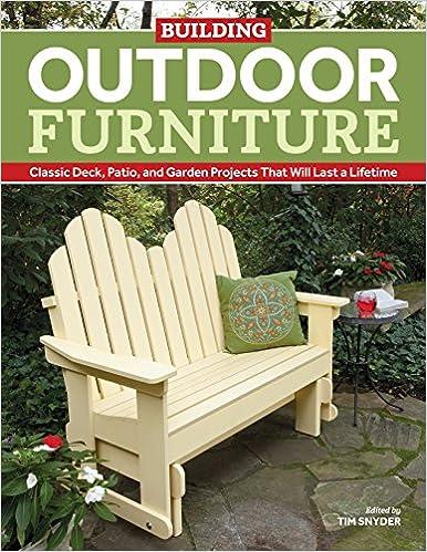 amazon building outdoor furniture classic deck patio and garden