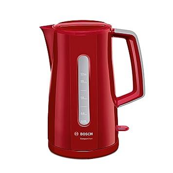 Bosch TWK3A014 - Hervidor de agua, 2400 W, Color Rojo