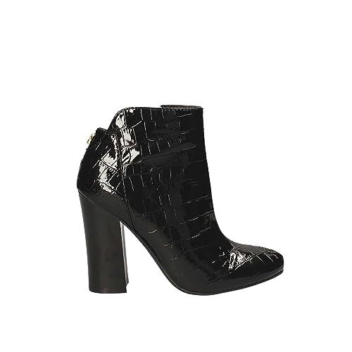 9efb9b598fa Mujer Calzado Mujer Calzado GUESS Negro Cuero Negro FLLN 23 Pac 09   Amazon.es  Zapatos y complementos