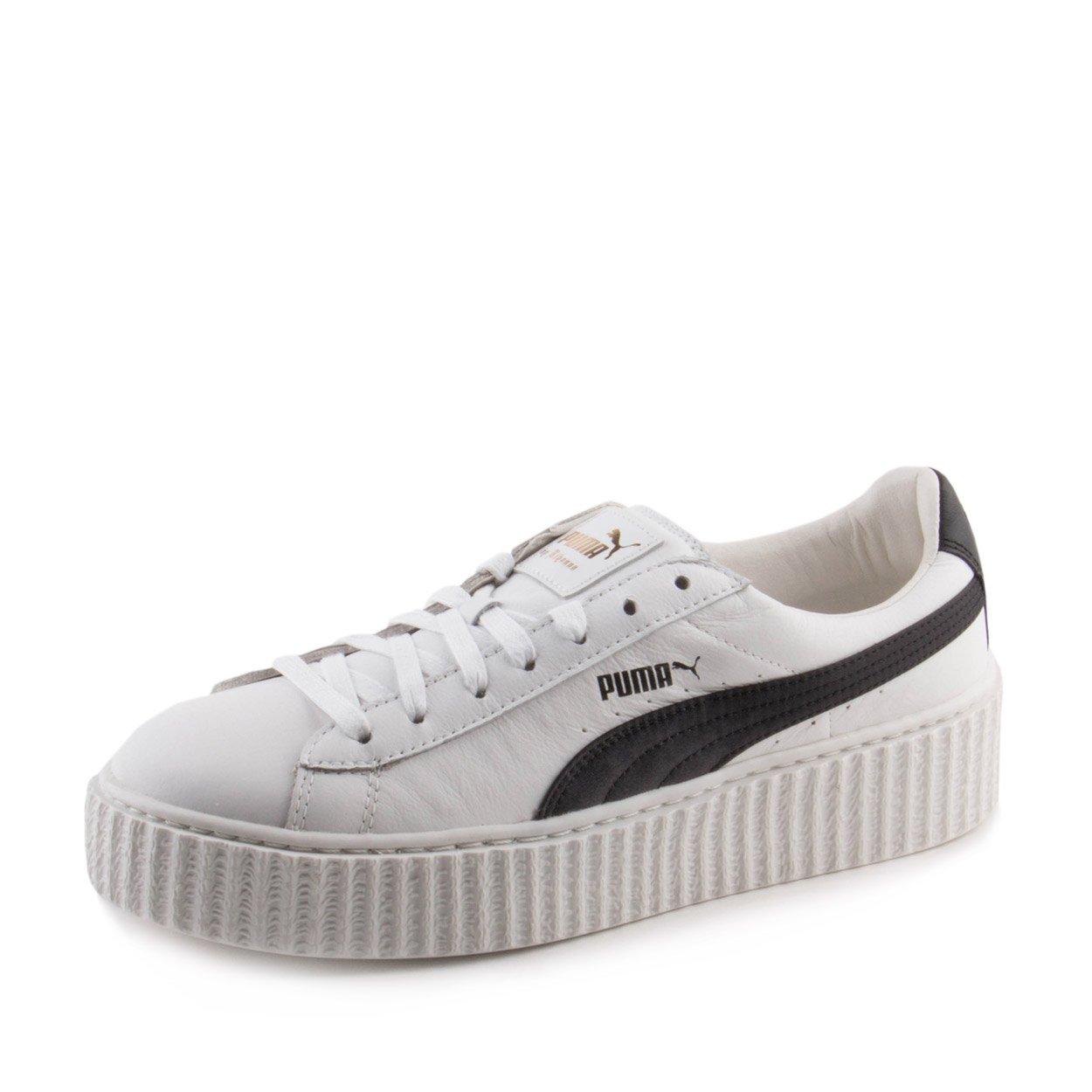 7f56847cb9b6 Galleon - Puma Creeper White   Black - 364462 01