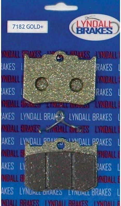 Lyndall Racing Brakes 7182 GOLD Gold-Plus Brake Pads