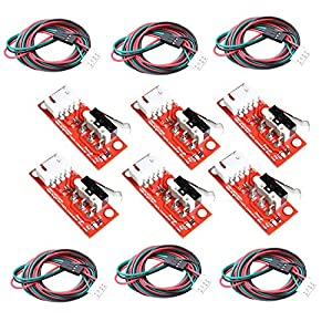 OctagonStar Endstop Mechanical Limit Switch for 3D Printer RAMPS 1.4(6pcs) by OctagonStar