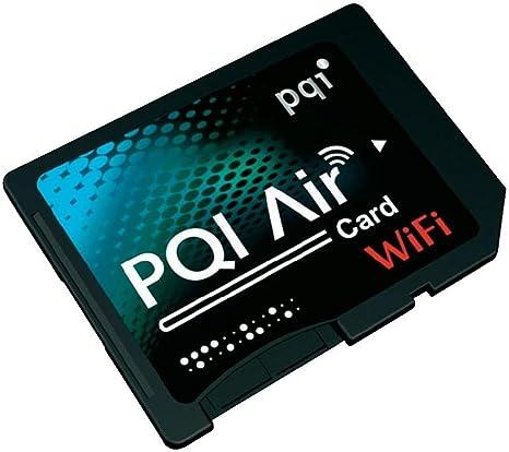Pqi Air Card Sdhc Wifi Karte Schwarz Elektronik