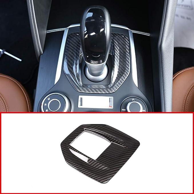 Mylnb Real Carbon Fiber Car Center Konsole Schalttafel Abdeckung Trim Aufkleber Für Alfa Romeo Stelvio Giulia 2016 2019 Sport Freizeit