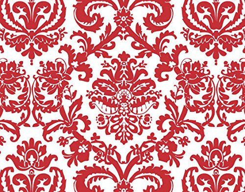 Bundleofbeauty Ty871a - 24pack Valentines /Christmas Red and White Flourish Damask Gift Wrap Tissue Paper by CakeSupplyShop