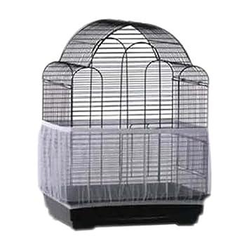 Hinmay - Funda Jaula de pájaros, Suave y fácil de Limpiar, Tela de Nailon, para Mascotas, jaulas de pájaros, cobertor de Malla, cobertor para Jaula de ...