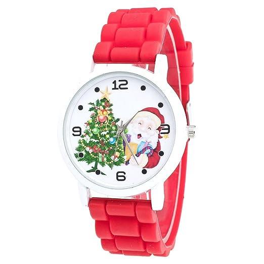 Kanpola Decoración Infantil Relojes,Christmas Gifts Children Color Fashion Watch Silicone Strap Wrist Watch: Amazon.es: Relojes