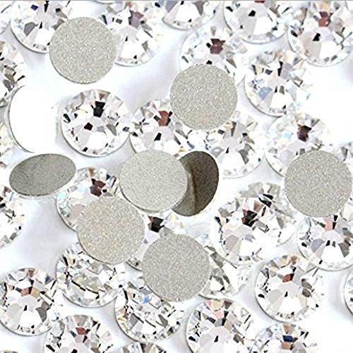 Jollin Crystal FlatBack Rhinestones For Nail Art Glue Fix 4.8mm SS20(1440pcs) by Jollin