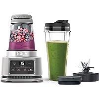 Batidora Ninja Foodi Power Nutri, 2 en 1; vaso de 700 ml y bol de 400 ml, motor smartTorque y tecnología Auto-iQ…