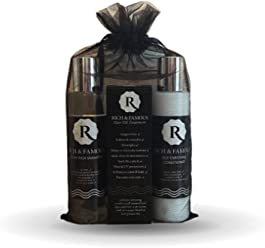 Rich & Famous Discovery Set Shampoo Conditioner Hair Oil Recommended By Award Winning Beauty Blogger