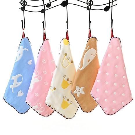 Algodón suave, Stillshine - Baby Shower Regalos Baño toallas con gancho Reutilizables bebés recién nacidos