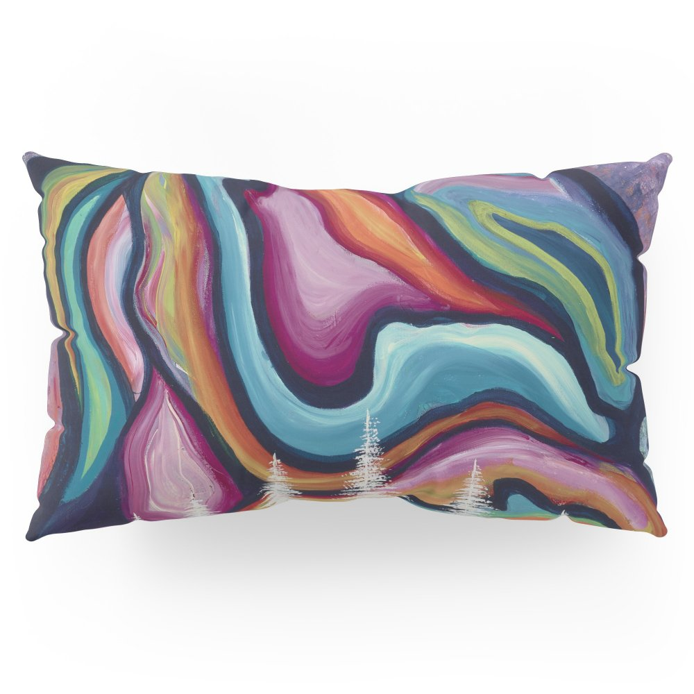 Society6 Space Mountain Pillow Sham King (20'' x 36'') Set of 2
