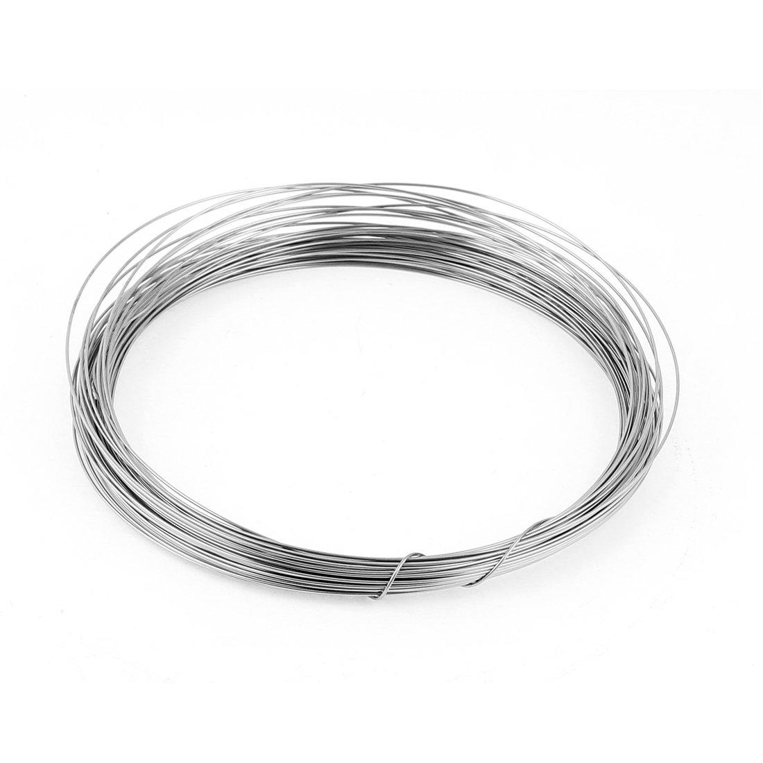 Acquisto sourcingmap® Filo tondo 1 mm di calibro 18 AWG 82ft per bobina di riscaldamento a filo riscaldatore Prezzi offerte