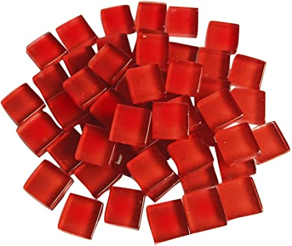 Glass Mosaic Tile Drops fro arts and Crafts 100g Various Colours