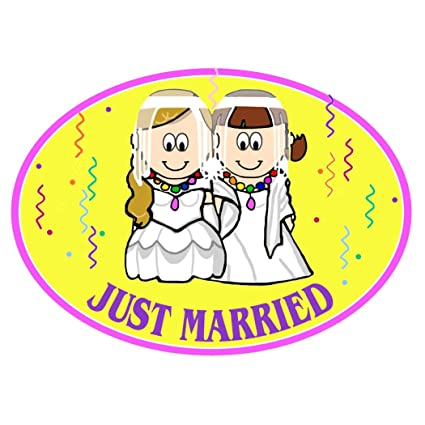 Just married lesbian