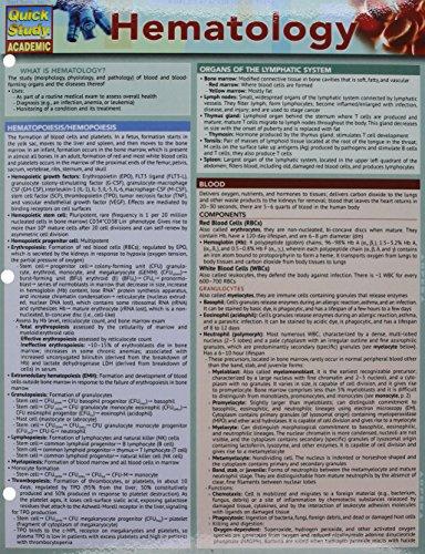 Hematology (Quick Study Academic) - medicalbooks.filipinodoctors.org
